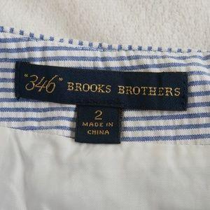 SALE 💫 346 Brooks Brothers Blue Pinstripe Skirt